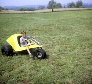 We had five Tri-Cubs for towing gliders. They were popular with the kids because they were fairly fast. Bill Maxwell fixed that by gearing them way down and the kids lost interest.