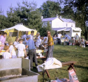 Ox roast and camp out in early 1970's